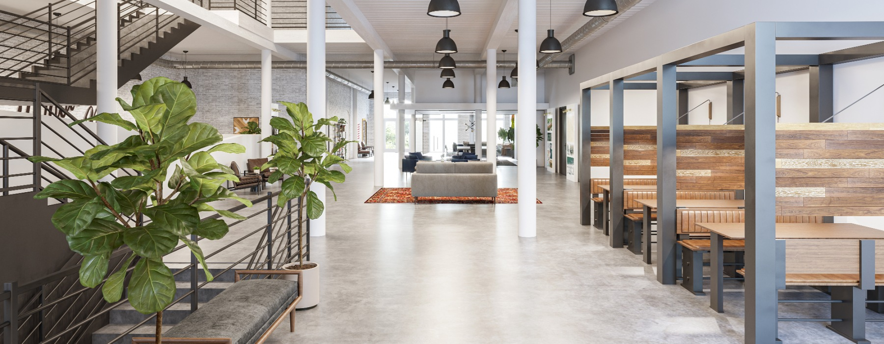Co-Working Space with Private Offices